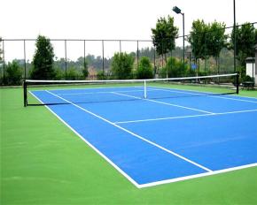 网球场橡胶道